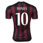 AC Milan 15/16 HONDA Badge of Honor Home Soccer Jersey