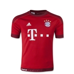 Bayern Munich 15/16 Youth Home Soccer Jersey