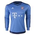 Bayern Munich 15/16 Home Goalkeeper Soccer Jersey