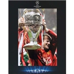 Official UEFA Champions League Rooney Signed Man United Photo in Deluxe Packaging 2008 Final