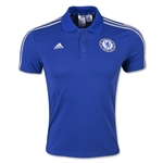 Chelsea adidas 3-Stripe Polo (Royal)