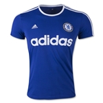 Chelsea FC adidas Striped Graphic T-Shirt (Royal)