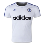 Chelsea FC adidas Striped Graphic T-Shirt (White)