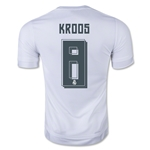 Real Madrid 15/16 KROOS Home Soccer Jersey