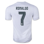 Real Madrid 15/16 RONALDO Home Soccer Jersey