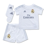 Real Madrid 15/16 Home Baby Kit