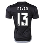 Real Madrid 15/16 NAVAS Home Goalkeeper Jersey