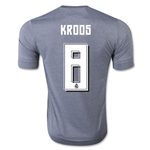 Real Madrid 15/16 KROOS Away Soccer Jersey