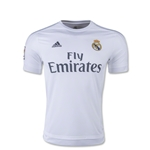Real Madrid 15/16 Youth Home Soccer Jersey
