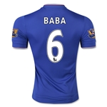 Chelsea 15/16  6 BABA Authentic Home Soccer Jersey