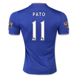 Chelsea 15/16 11 PATO Authentic Home Soccer Jersey