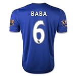 Chelsea 15/16  6 BABA Home Soccer Jersey