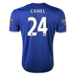 Chelsea 15/16 24 CAHILL Home Soccer Jersey