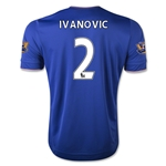 Chelsea 15/16  2 IVANOVIC Home Soccer Jersey