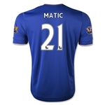 Chelsea 15/16 21 MATIC Home Soccer Jersey
