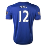 Chelsea 15/16 12 MIKEL Home Soccer Jersey