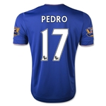 Chelsea 15/16 17 PEDRO Home Soccer Jersey