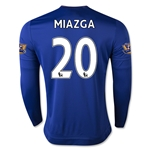 Chelsea 15/16 20 MIAZGA LS Home Soccer Jersey