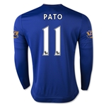 Chelsea 15/16 11 PATO LS Home Soccer Jersey