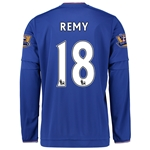 Chelsea 15/16 18 REMY LS Home Soccer Jersey