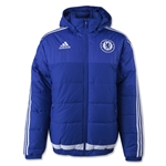 Chelsea 15/16 adidas Full-Zip Padded Jacket (Royal)