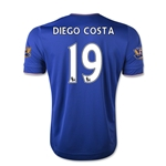Chelsea 15/16 DIEGO COSTA Youth Home Soccer Jersey