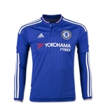 Chelsea 15/16 LS Youth Home Soccer Jersey