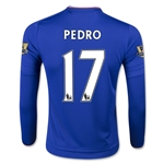 Chelsea 15/16 17 PEDRO LS Youth Home Soccer Jersey