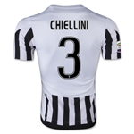 Juventus 15/16 CHIELLINI Home Soccer Jersey