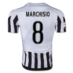Juventus 15/16 MARCHISIO Home Soccer Jersey