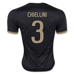 Juventus 15/16 CHIELLINI Third Soccer Jersey