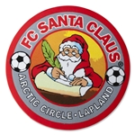 FC Santa Claus Sticker