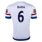 Chelsea 15/16  6 BABA Away Soccer Jersey