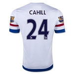Chelsea 15/16 24 CAHILL Away Soccer Jersey