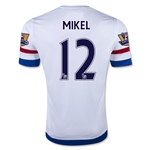 Chelsea 15/16 12 MIKEL Away Soccer Jersey