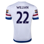 Chelsea 15/16 22 WILLIAN Away Soccer Jersey
