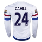 Chelsea 15/16 24 CAHILL LS Away Soccer Jersey