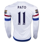 Chelsea 15/16 11 PATO LS Away Soccer Jersey
