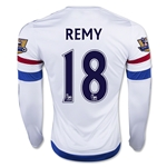 Chelsea 15/16 18 REMY LS Away Soccer Jersey