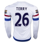 Chelsea 15/16 26 TERRY LS Away Soccer Jersey