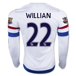 Chelsea 15/16 22 WILLIAN LS Away Soccer Jersey