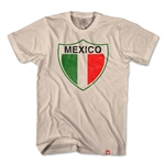 Objectivo Mexico Vintage Crest Soccer T-Shirt (White)