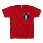 Objectivo US Soccer Stars Pocket T-Shirt (Red)
