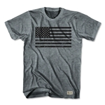 Ultras American Black Flag Soccer T-Shirt (Gray)