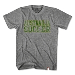 Objectivo Australia Football Nation Soccer T-Shirt (Gray)