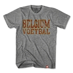 Objectivo Belgium Voetbal Nation Soccer T-Shirt (Gray)