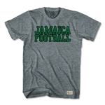 Objectivo Jamaica Football Nation Soccer T-Shirt (Gray)