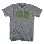 Objectivo Mexico Football Nation Soccer T-Shirt (Gray)