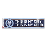 New York City FC Bumper Sticker