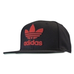 adidas Originals Thrasher Chain Snapback Cap (Black/Red)